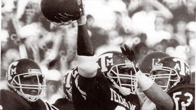 Aggie Flashback with former LB Aaron Wallace