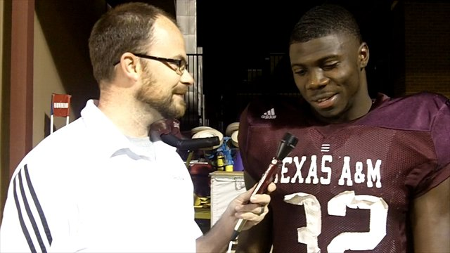 Q&A with A&M tailback Cyrus Gray