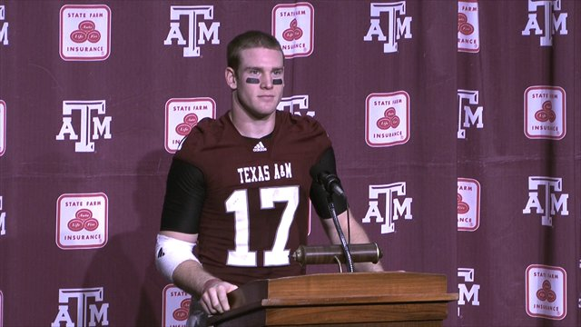 Post-Game Interviews: Texas A&M vs. Nebraska