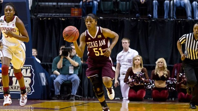 Aggie Flashback with former A&M point guard Sydney Colson