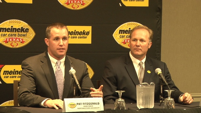 DeRuyter, Fitzgerald lead pre-bowl press conference