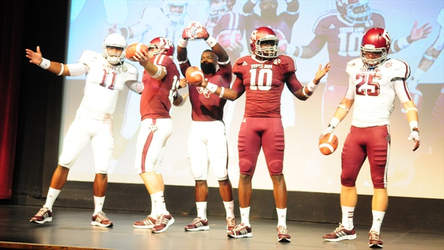 Photo Gallery: 2012 football uniform unveiling