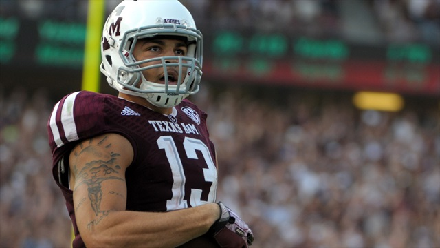 Mike Evans on his time at Texas A&M, getting better and giving back