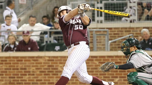 Melton and Long shine, lead Aggie baseball over Dartmouth 8-1