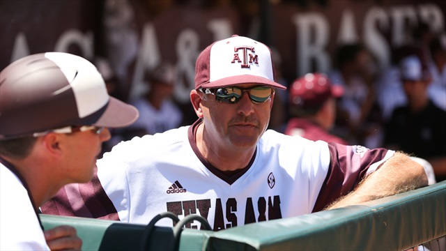 Rob Childress on national seed snub, College Station regional
