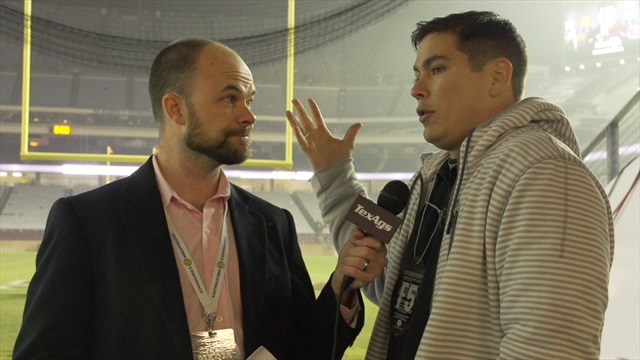 Kyle Field post-game wrap with Brandon Leone