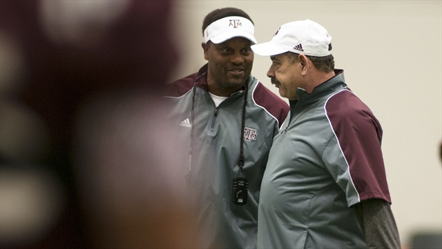 Snippets from A&M's second spring practice