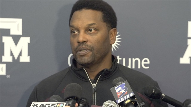 WATCH: Sumlin, Showers, Aggies on Pro Day results