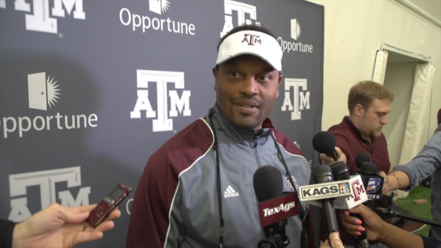 Spring Day 5: Sumlin sizes up Aggies' progress