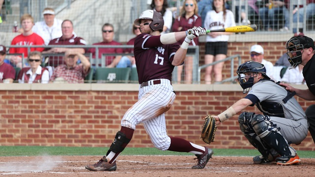 Aggies break through against LSU in series finale, 6-2