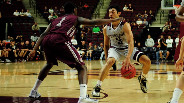 Aggies rebound in 81-64 victory over Montana in NIT opener