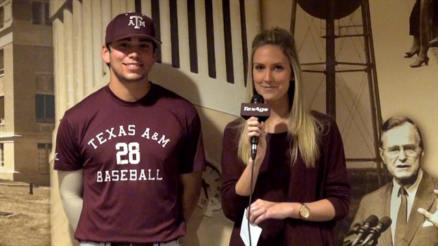 Get to Know ... A&M pitcher Mark Ecker
