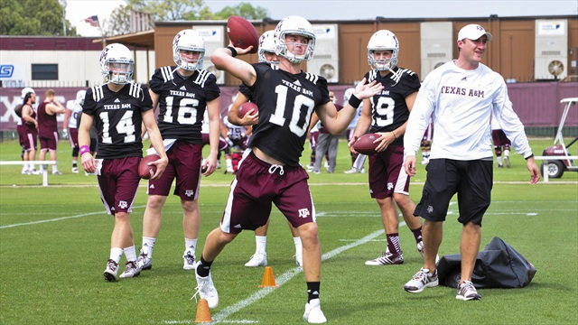 Aggies close spring with progress on the mind