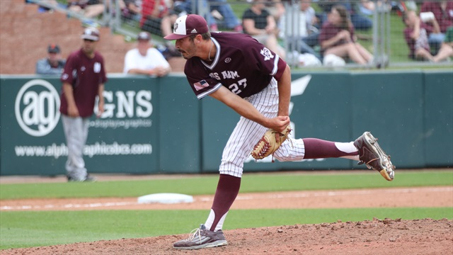 A&M ousted by the Tigers in final innings, 9-6