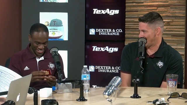Departing senior Yell Leaders Roy May, Shaq Gould detail serving A&M