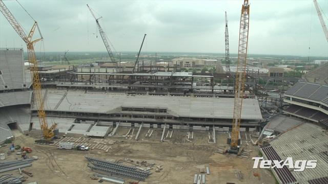 A&M reveals new Kyle Field press box, gives latest update