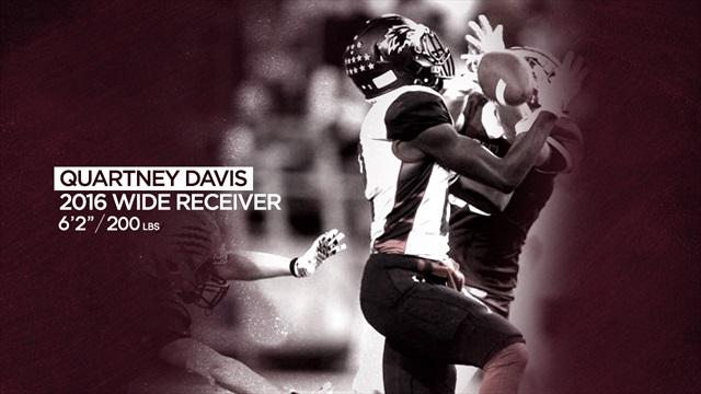Langham Creek wide receiver Quartney Davis commits to Aggies