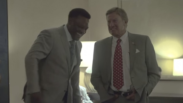 Kevin Sumlin schmoozes around Hoover in SECMD Behind the Scenes